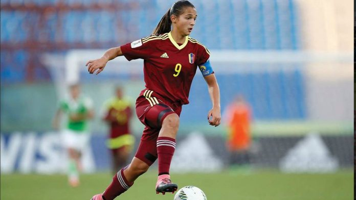 Deyna Castellanos dio agónico triunfo a la Vinotinto femenina