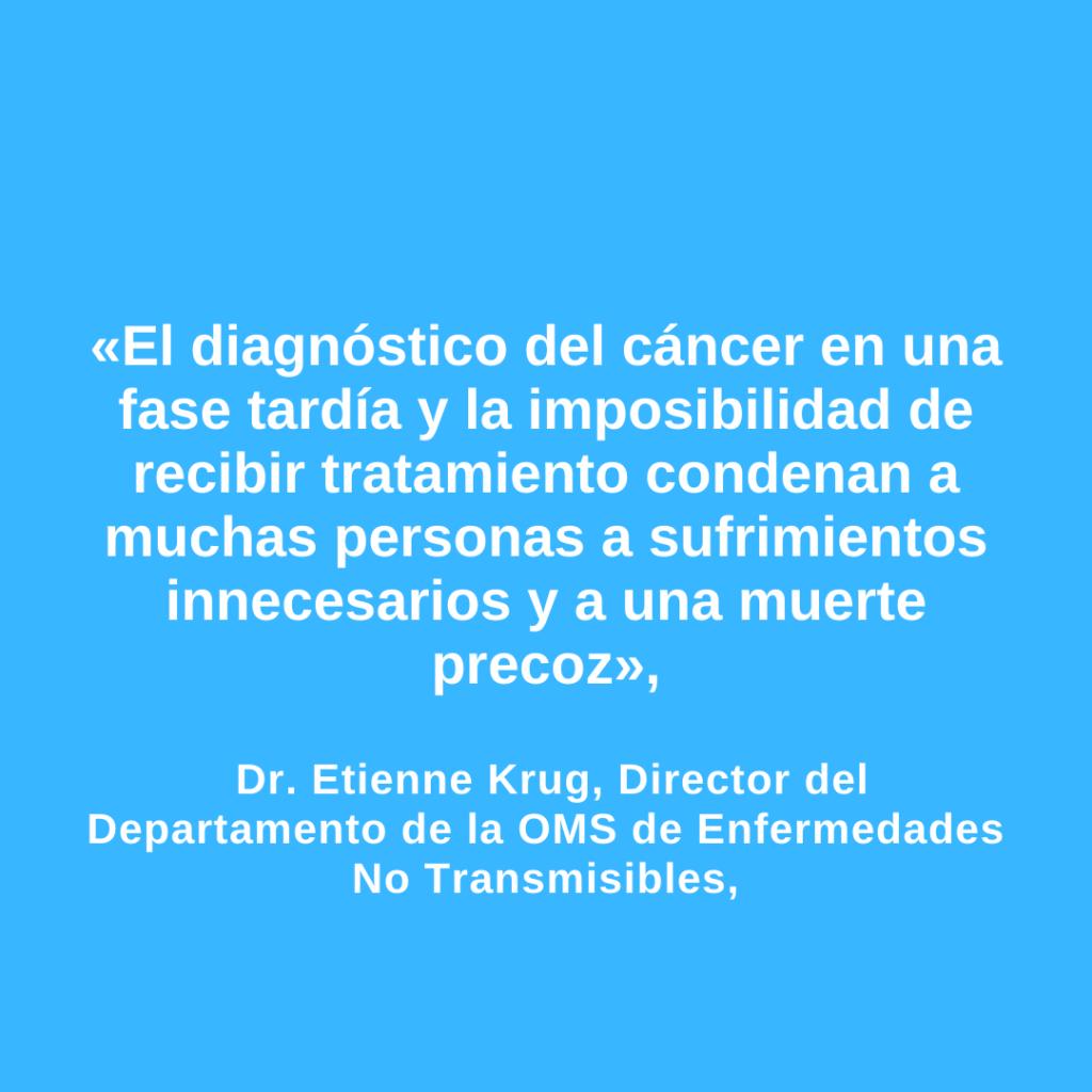 diágnostico del cáncer