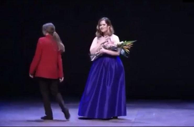 La venezolana María Brea recibió el premio Zarzuela en España
