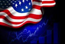 alt_text: Gráficos económicos y bandera de EEUU, Depositphotos. Y guardarlo.